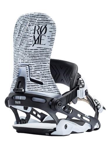 Rome Snowboard Bağlaması Beyaz